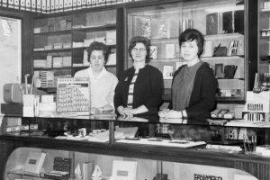 Katoorboekhandel in de jaren zestig